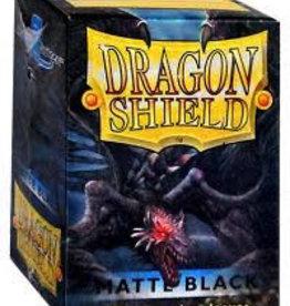 DS - Standard Sleeves Dragon Shield Standard Sleeves - Matte Black (100 Sleeves)