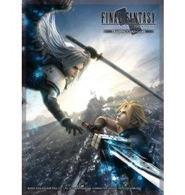 FF - Zubehör Final Fantasy TCG Supplies - Sleeves - FFVII Advent Children: Cloud/Sephiroth (60 Sleeves)