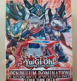 YGO - Structure Deck YGO - Structure Deck - Pendulum Domination - DE