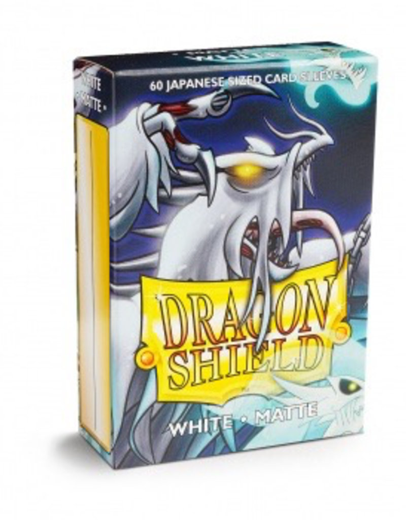 DS - Small Sleeves Dragon Shield Small Sleeves - Japanese Matte White (60 Sleeves)