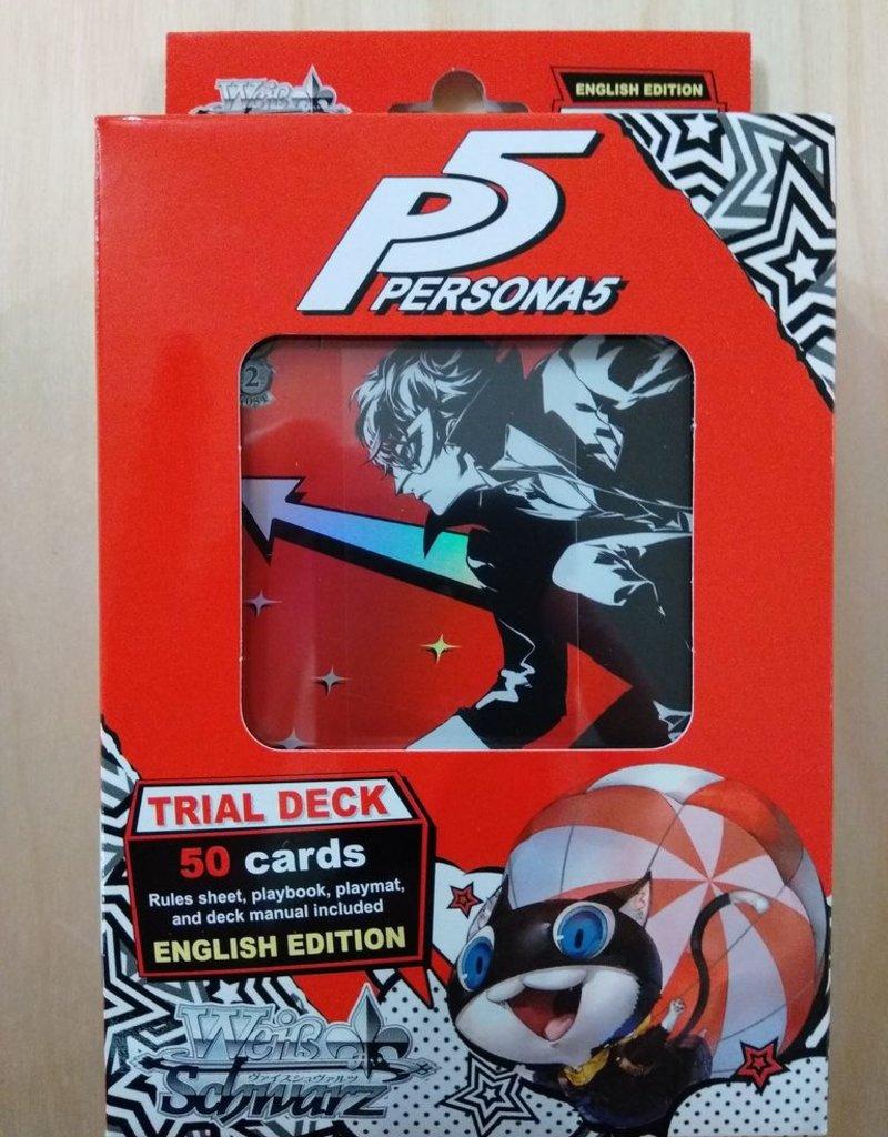 WS - Persona Weiß Schwarz - Trial Deck: Persona 5 - EN