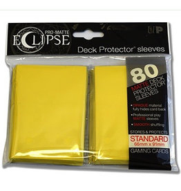 UP - Standard Sleeves UP - Standard Sleeves - Eclipse - Yellow (80 Sleeves)