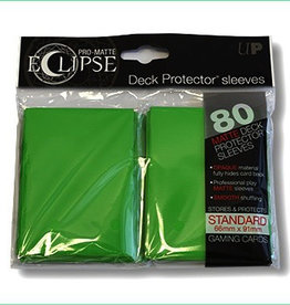 UP - Standard Sleeves UP - Standard Sleeves - Eclipse - Green (80 Sleeves)