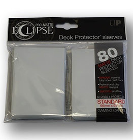UP - Standard Sleeves UP - Standard Sleeves - Eclipse - White (80 Sleeves)