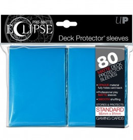 UP - Standard Sleeves UP - Standard Sleeves - PRO-Matte Eclipse - Light Blue (80 Sleeves)