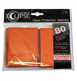 UP - Standard Sleeves UP - Standard Sleeves - PRO-Matte Eclipse - Orange (80 Sleeves)