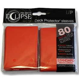 UP - Standard Sleeves UP - Standard Sleeves - PRO-Matte Eclipse - Red (80 Sleeves)