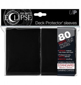 UP - Standard Sleeves UP - Standard Sleeves - Eclipse - Black (80 Sleeves)