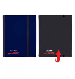 UP - Binder UP - Pro-Binder - 4-Pocket Portfolio - Blue/Black