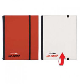 UP - Binder UP - Pro-Binder - 4-Pocket Portfolio - Red/White