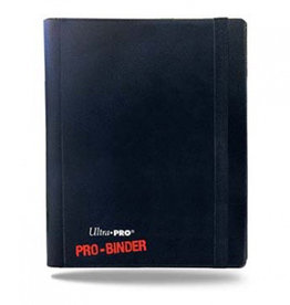 UP - Binder UP - Pro-Binder - 4-Pocket Portfolio - Black