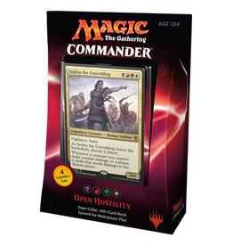 MTG - Commander MTG - Commander 2016 Deck - EN - Open Hostility