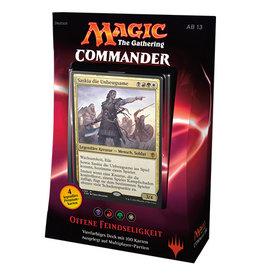 MTG - Commander MTG - Commander 2016 Deck - DE - Offene Feindseligkeit