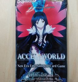 WS - Accel World Weiß Schwarz - Booster: Accel World - EN