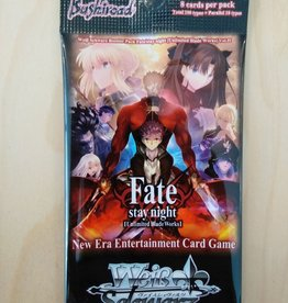 WS - Fate/ stay night Fate/ stay night (Unlimited Blade Works) Vol.2 - Booster - EN