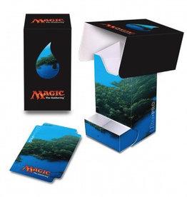 UP - Full-View Deck Box UP - Full-View Deck Box with Tray - Magic: The Gathering - Mana 5 Island