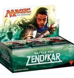MTG - Battle for Zendikar Battle for Zendikar Booster Display EN