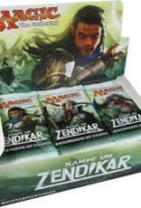 MTG - Battle for Zendikar Kampf um Zendikar Booster Display DE