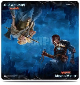 UP - Play Mat UP - Duel Play Mat - Magic: The Gathering - Mind vs. Might