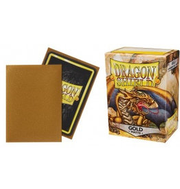 DS - Standard Sleeves Dragon Shield Standard Sleeves - Matte Gold (100 Sleeves)