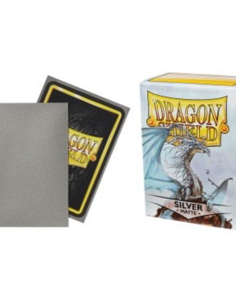 DS - Standard Sleeves Dragon Shield Standard Sleeves - Matte Silver (100 Sleeves)