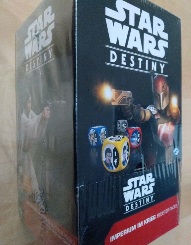 FFG - Star Wars Destiny FFG - Star Wars Destiny TCDG: Imperium im Krieg Booster Display (36 Packs) - DE