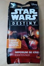 FFG - Star Wars Destiny FFG - Star Wars Destiny TCDG: Imperium im Krieg Booster - DE