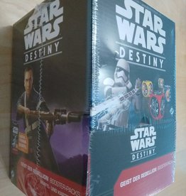 FFG - Star Wars Destiny FFG - Star Wars: Destiny TCDG - Geist der Rebellion Booster Display (36 Packs) - DE