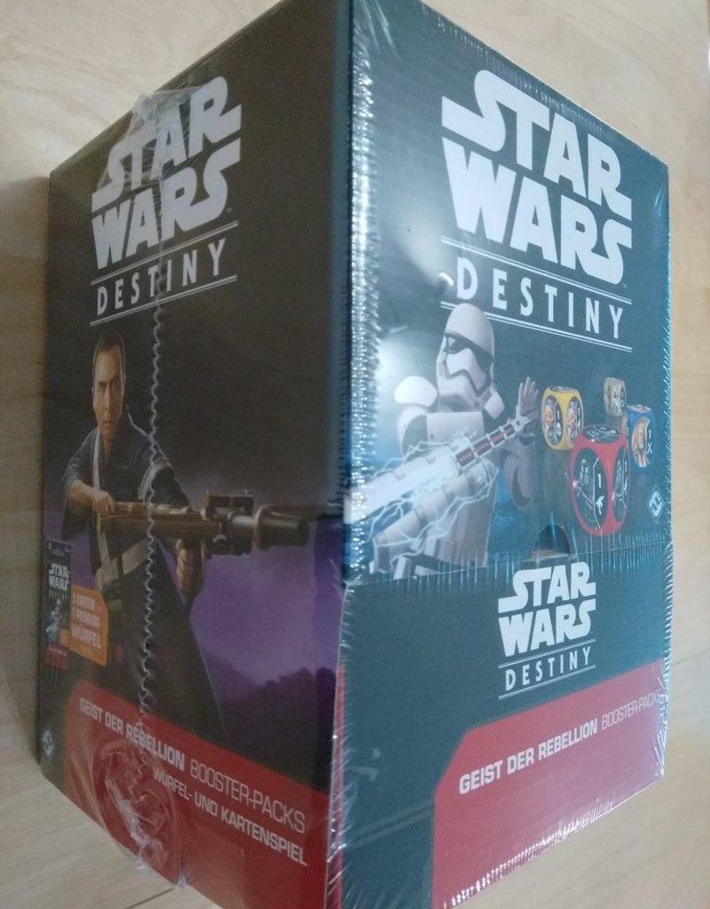 FFG - Star Wars Destiny FFG - Star Wars: Destiny TCDG - Geist der Rebellion Booster Display (36 Packs) - DE