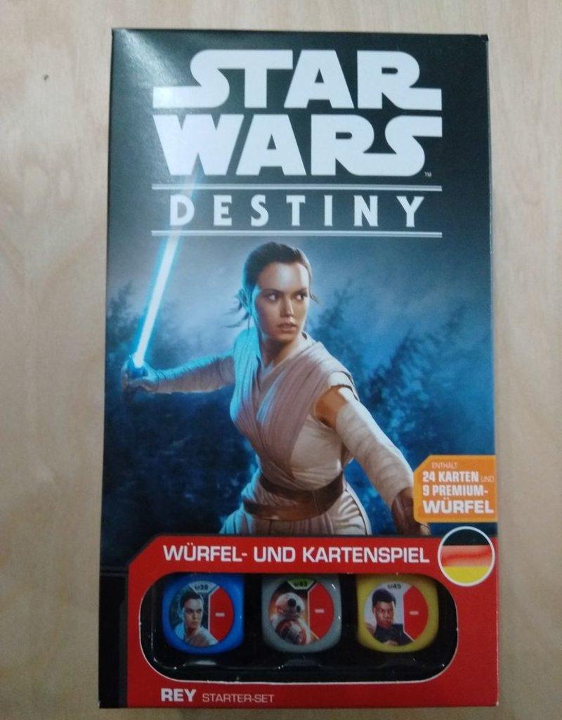 FFG - Star Wars Destiny FFG - Star Wars: Destiny - Rey Starter-Set - DE
