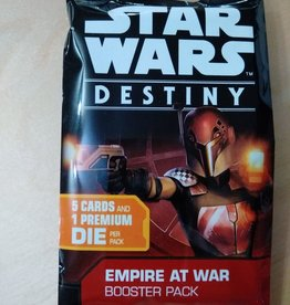 FFG - Star Wars Destiny FFG - Star Wars Destiny TCDG: Empire at War Booster - EN
