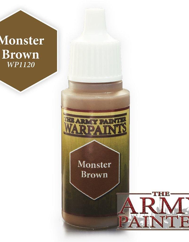 AP - Malen & Basteln Monster Brown