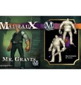 WYR - Malifaux Miniaturen Mr. Graves