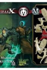 WYR - Malifaux Miniaturen Death Marshal Recruiter