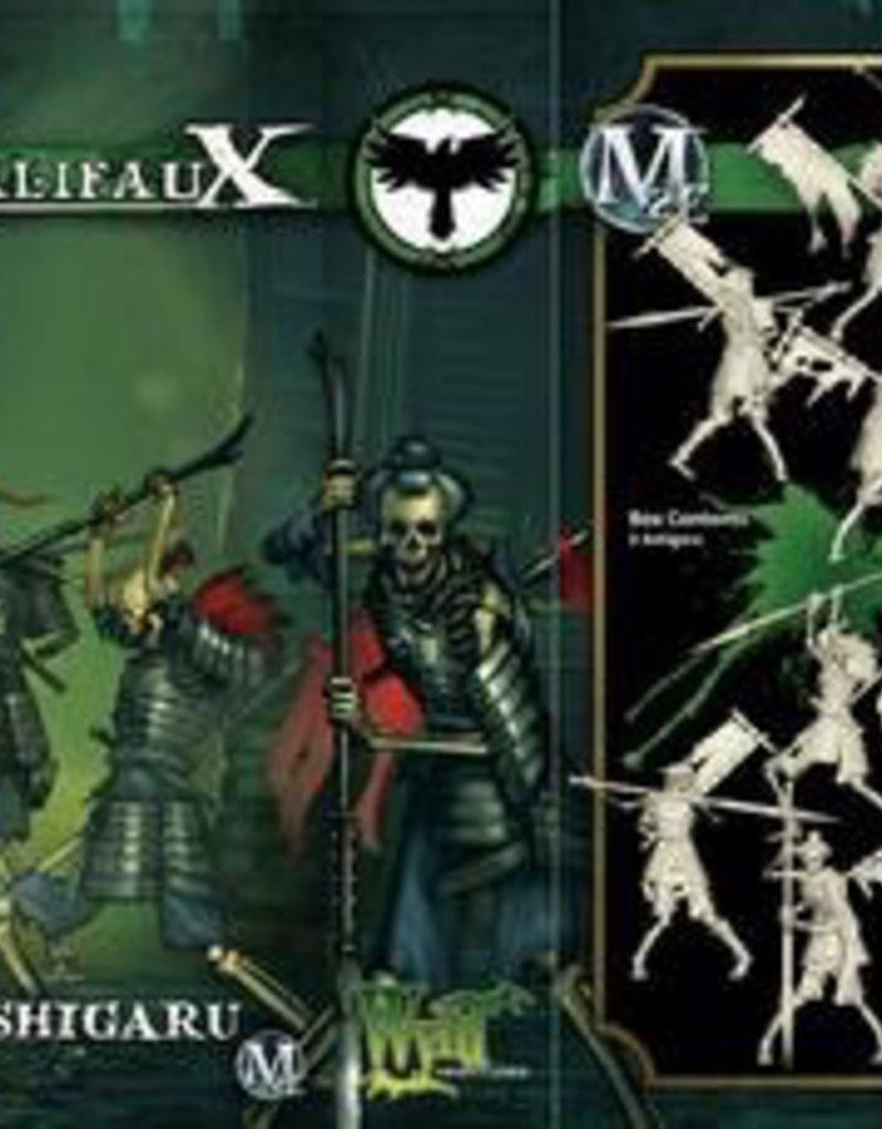 WYR - Malifaux Miniaturen Ashiguru - Enforcer set (3 Pack)