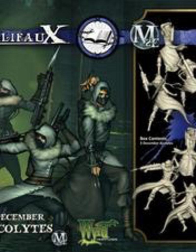 WYR - Malifaux Miniaturen December Acolyte (3)