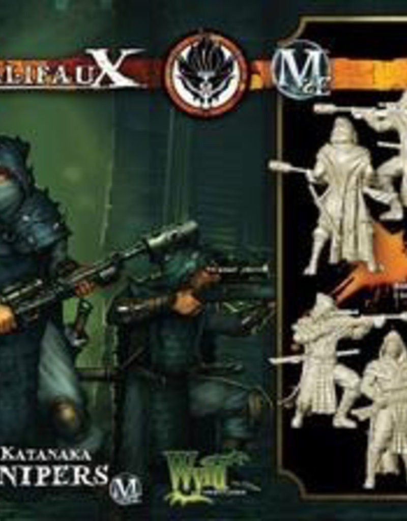 WYR - Malifaux Miniaturen Ansutu  / Katanaka Sniper (2 Pack)