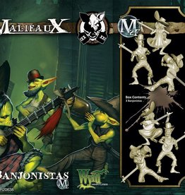 WYR - Malifaux Miniaturen Banjonistas (box of 3)