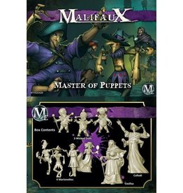 WYR - Malifaux Miniaturen Collodi Crew Box - Master of Puppets