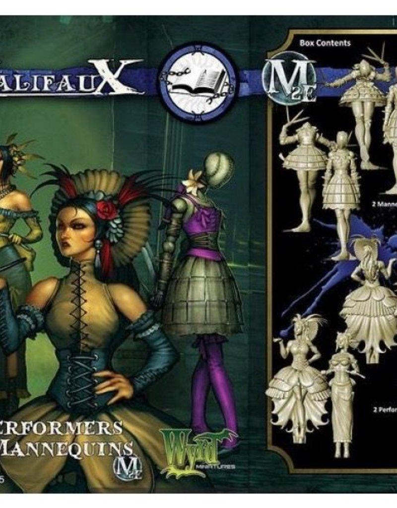 WYR - Malifaux Miniaturen Mannequins/Performers