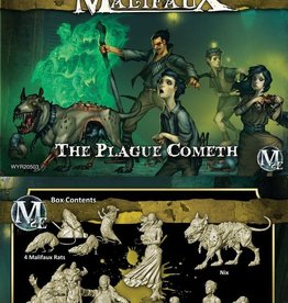 WYR - Malifaux Miniaturen Hamelin Crew - the Plague Cometh