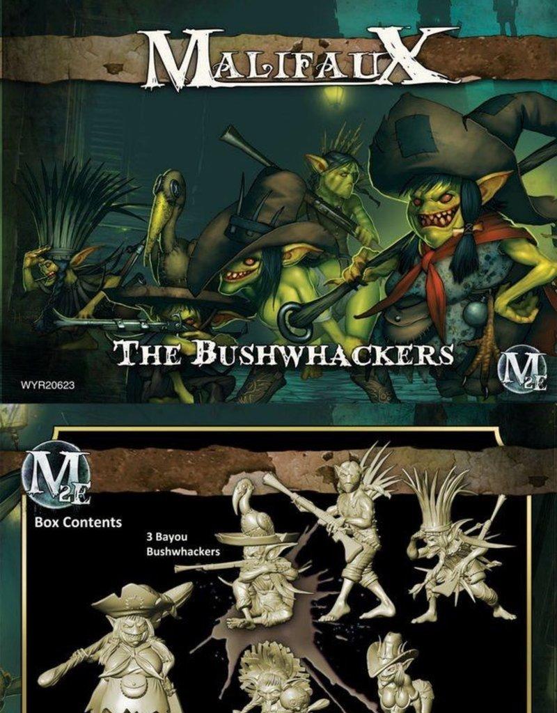 WYR - Malifaux Miniaturen Mah Tucket Crew -Bushwackers