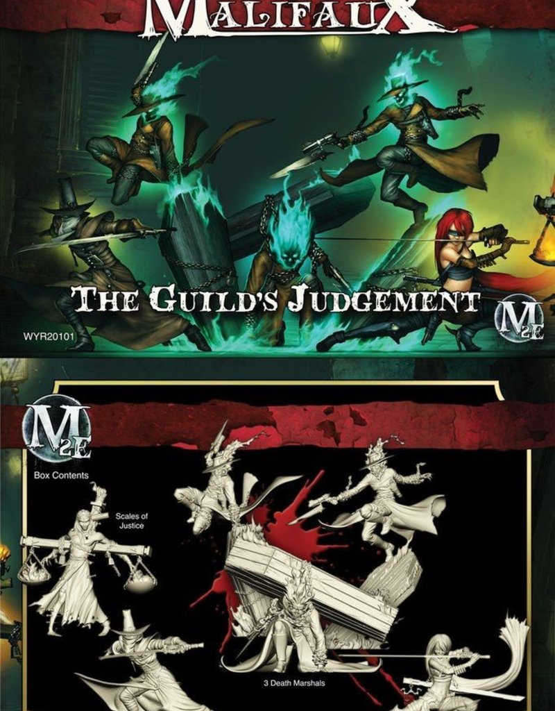 WYR - Malifaux Miniaturen Guilds Judgement (Lady Justice Crew Box Set)