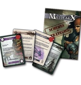WYR - Malifaux Zubehör Schemes and Strategies Deck
