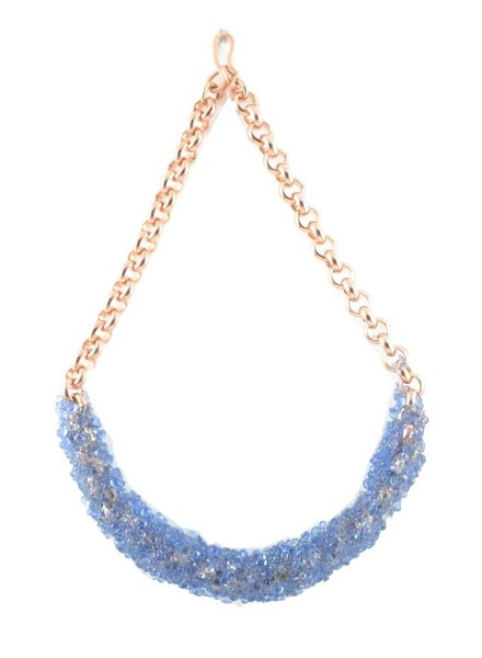 Rosa Hirn BLUEPRINT NECKLACE SPECIAL LOOK OF LITCHI EDITION