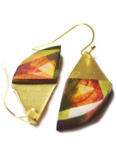 Wood Land EARRING CRAZY