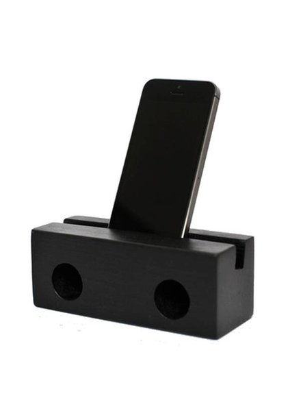 klotz berlin Holzlautsprecher fürs Iphone BLACK