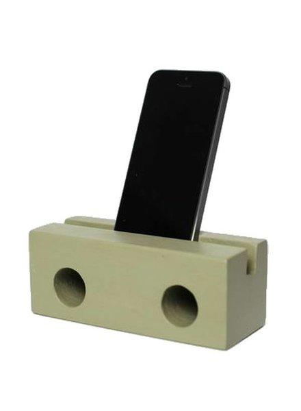klotz berlin Holzlautsprecher fürs Iphone OLIVE