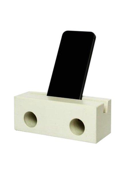 klotz berlin Holzlautsprecher fürs Iphone WHITE