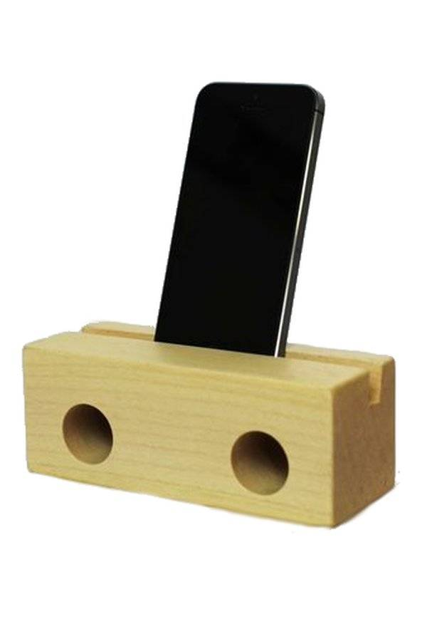 klotz berlin Holzlautsprecher fürs Iphone NATUR